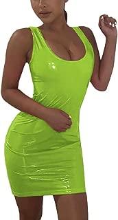 pu dresses