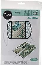 Sizzix 661393 Thinlits Die Set, Gatefold Card, Snowflakes by Lori Whitlock (8-Pack)
