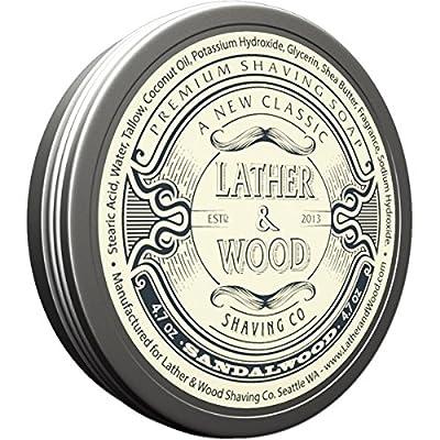 Lather & Wood Shaving