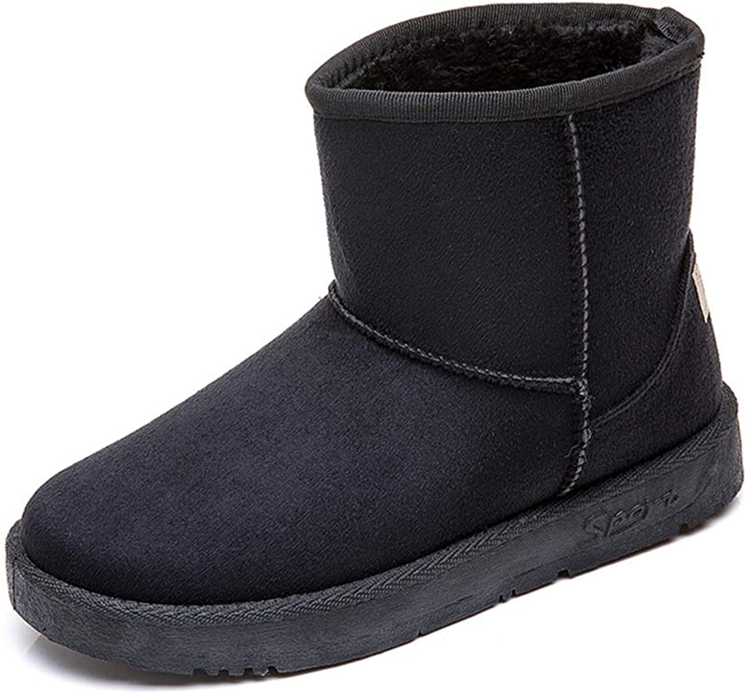 Women Winter Boots Snow Boots Suede Faux Comfort Classic Casual Soft Toe Warmers