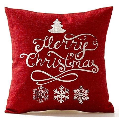 SODIAL(R) Christmas Pine Tree Snowflake Merry Christmas...