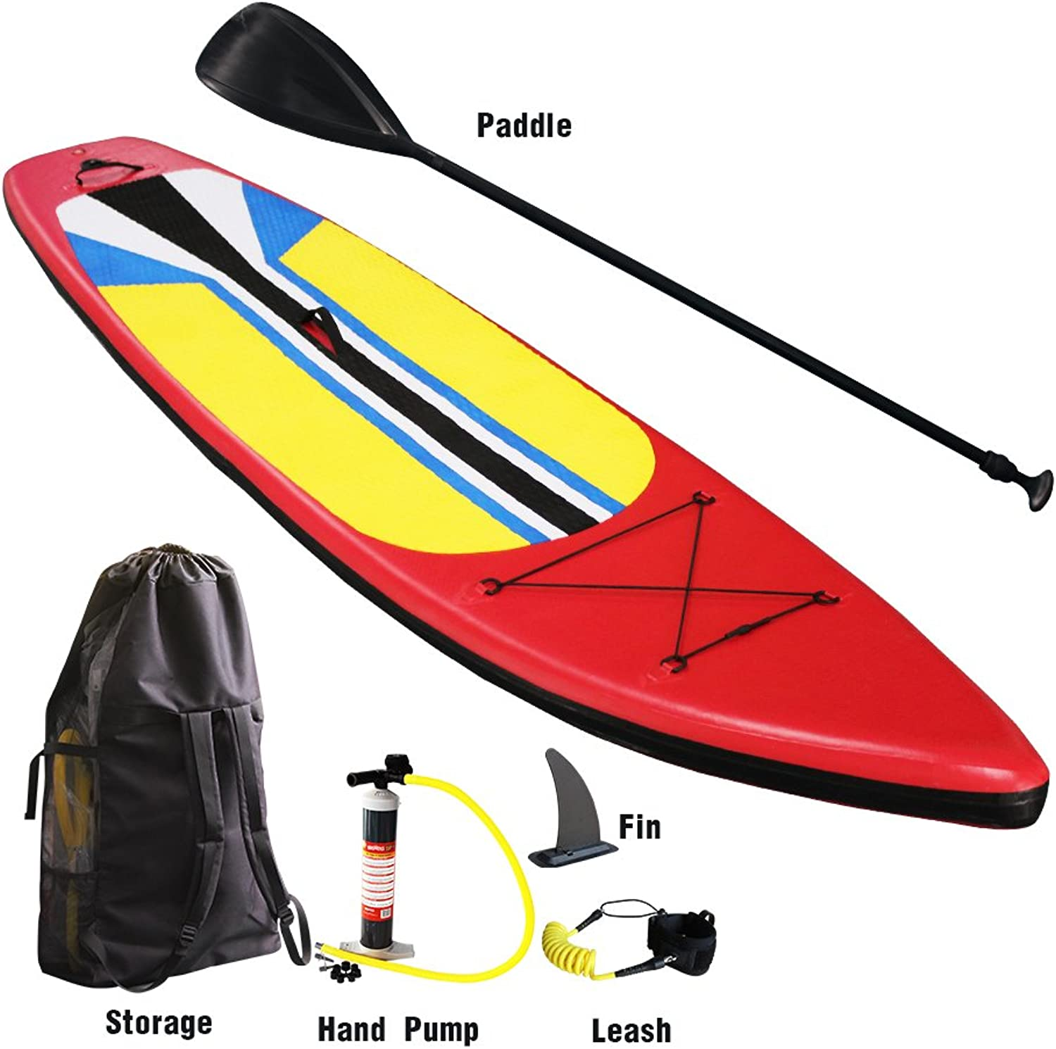 Inflatable Surfboard Stand up Paddle Board Universal SUP Complete Accessory Set