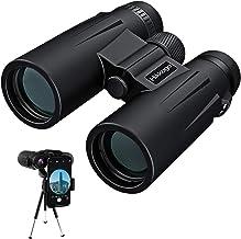 Binoculares, 12x42 Prismaticos Profesionales con trípode y