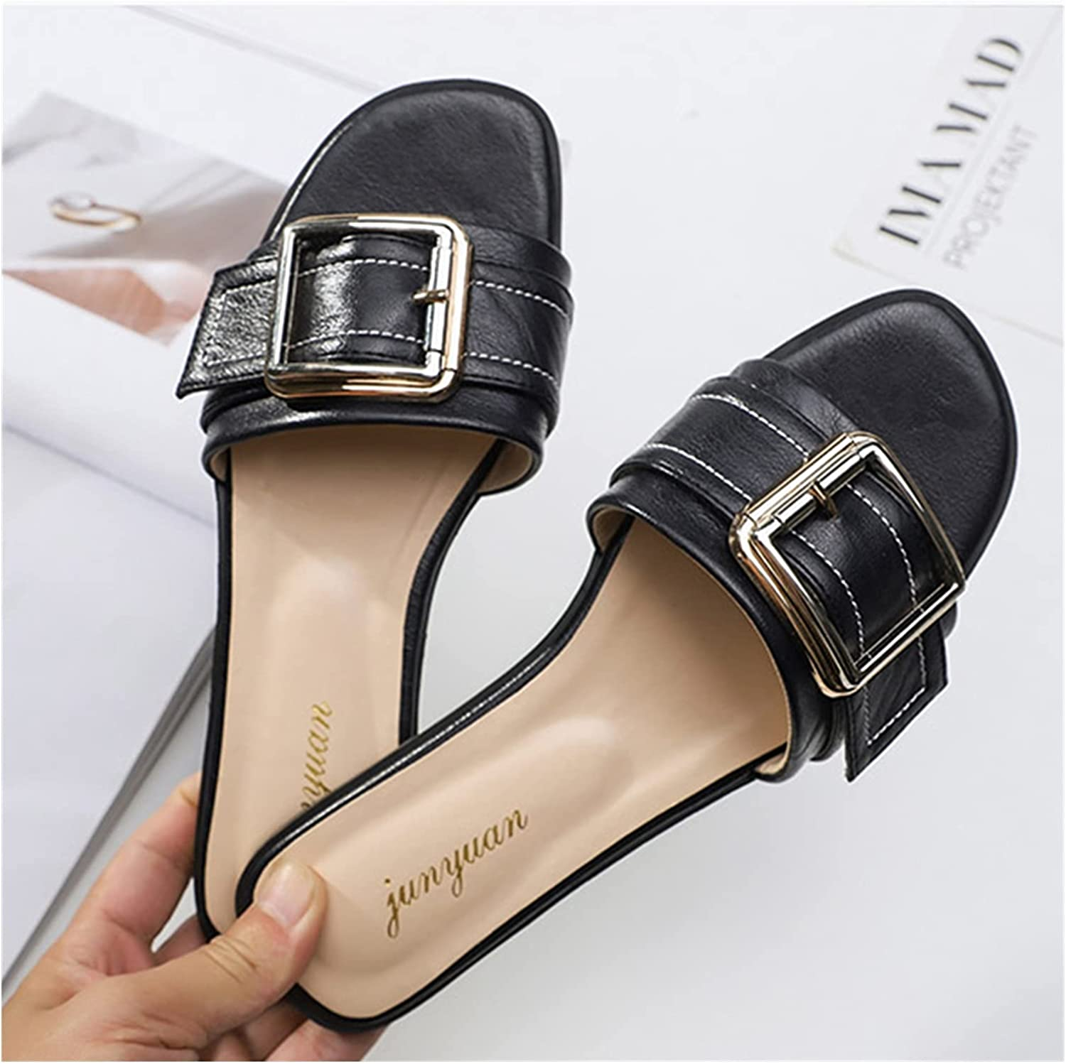 QUNHU Flat Dealing full price reduction Shoes for Woman Summer Womens Sandals Popular brand in the world Flip-Flops