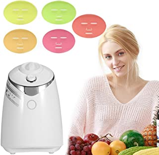 ZJchao Face Mask Machine, Voice Broadcasting Full Automation DIY Natural Fruit Vegetable Facial Care Mask Maker Machine with FDA-Certified (Mask Maker Machine Without Collagen)