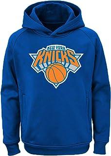 قميص ثقيل بقلنسوة للأطفال مطبوع عليه شعار الفريق 4-7 بلون الفريق من Outerstuff NBA