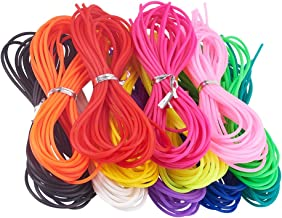 NBEADS Cable, 60 Soportes 1 M/Filamento Cordón de Caucho de Color Mezclado para Manualidades Pulsera Collar Cordón Rebordear Calzado Ropa Decoración O Joyería DIY