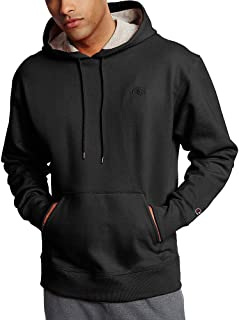 Champion Men's Powerblend Pullover Hoodie, Large, Black
