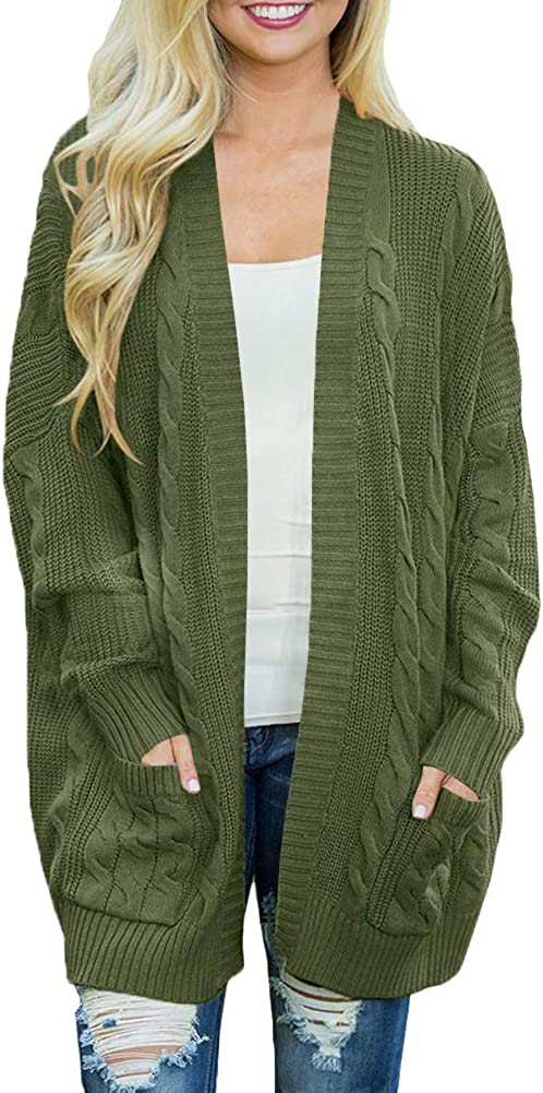 For G and PL Women Open Special price Sleeve Cardigan Long Sweater Front Coat Tampa Mall
