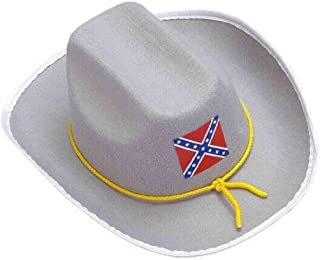 Military Civil War Confederate Officer Hat Costume Accessory