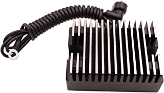 HZYCKJ Voltage Regulator Rectifier Compatible for Harley Davidson Big Twin EVO 32A 1340CC 1989-1999 Dyna Replaces OEM # 74519-88 74519-88A