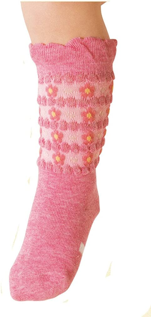 Toddler Non-slip Socks Kids Big Little Girls Socks Teens Princess Combed Cotton Crew Socks Toptim