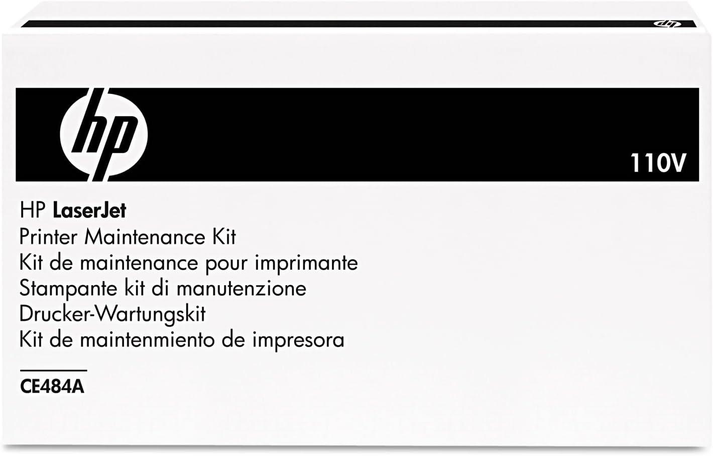 HP CE484A Laser Printer Volt Kit, 110 V AC, Black