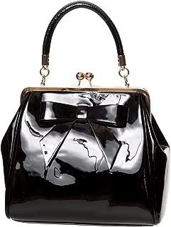 American Vintage Rockabilly Retro 50s Top Handle Bag Handbag