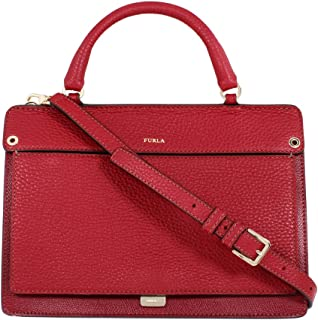 Furla Spring/Summer Ladies Medium Red Leather Shoulder Bag 997364