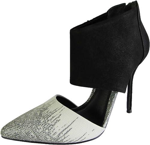 Steve Steve Steve Madden damen Ripperr Fashion Pump schuhe, schwarz Weiß, US 10  tolle angebote