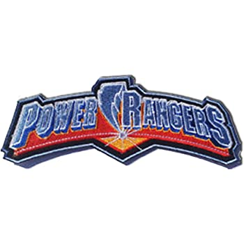 Power Rangers Characters Embroidered Iron on Patch
