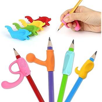 Kinder Bleistift Griffe Halter Ergonomische Schreibhaltung Korrektur Werkzeug