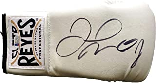 Authentic Floyd Mayweather Jr. Autographed Signed Cleto Reyes White Boxing Glove (Beckett COA)