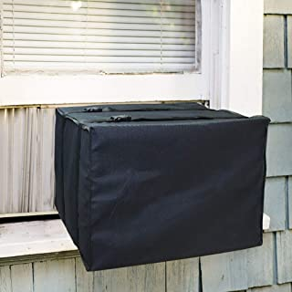 """LEBOO Window Air Conditioner Unit Cover - Durable AC Cover Dust-Proof Waterproof AC Cover for Outside Window (21"""" W x 15"""" H x 16"""" D)"""