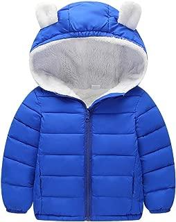 Genda 2Archer Baby Girls Boys' Winter Fleece Jackets with Hooded Puffer Outwear Coat