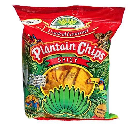 20x85g Spicy TG Kochbananen Plantain Chips spicy