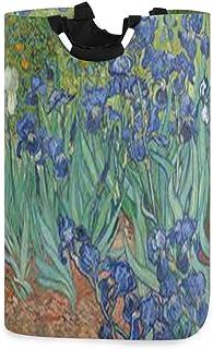 N\A Vincent Van Gogh Panier à Linge Panier à Linge Sac à Linge Sale Seau Pliable Poubelle à Laver Jouets Organisateur de R...