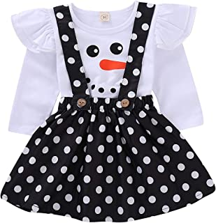 ModnToga Baby Girls Velvet Suspender Skirt Infant Toddler Ruffled Casual Strap Sundress Summer Outfit Clothes