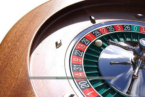 tienda de bajo costo Dal negro negro negro Montecarlo 50cm Mahogany Roulette Wheel  tienda en linea
