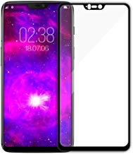 Aeidess Clear Hd 6D Ultra Screen-Protector Tempered Glass for Oneplus-6 (Black)