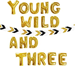young wild and three decorations