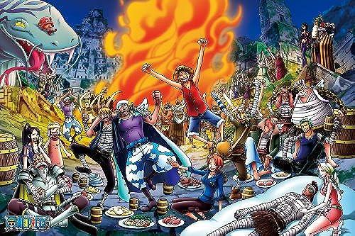 1000-354's 1000 piece banquet one piece (japan import)