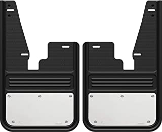 Gatorback RAM Stainless Steel Plate Truck Mud Flaps (2009-18 RAM Front - Without OEM Flares)
