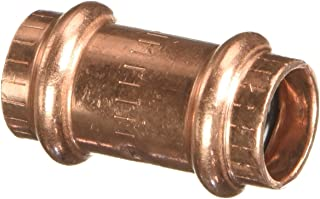 VIEGA 78047 Propress Zero Lead Copper Coupling with Stop 1/2