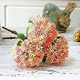 YYCVVH Fleurs artificielles Deco Fruits d'avoine pour Bouquets de Mariage, Maison, hôtel, Jardin DIY Decor 5 bâtons