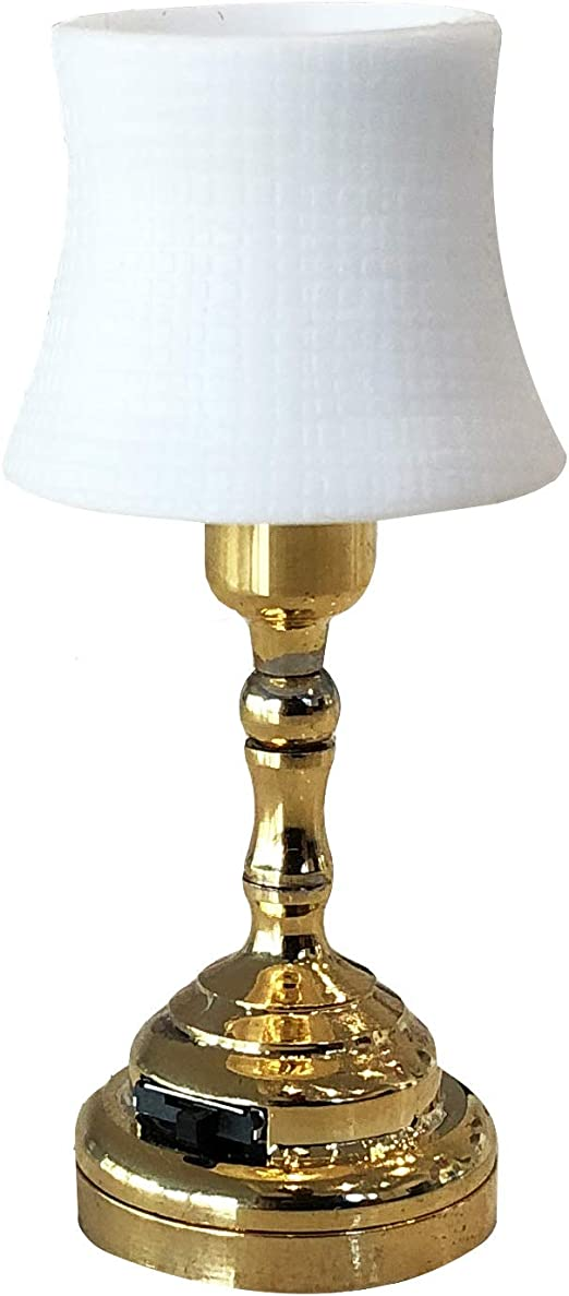Dollhouse Miniature table lamp Dollhouse Lighting 1 12th living room table light