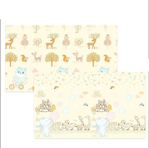 Kinderspielmatte, Ungiftige Faltende Bodenmatte, Schaum-Größe Fliesen-wasserdichte Baby-kriechende Matte Für Jungen-mädchen (Farbe   A)