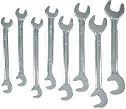 Zenith Industries ZN502009 SAE Mini Double Open End Wrench Set, 7/32