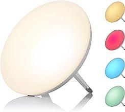 Medisana LT 500 daglichtlamp, daglichtlamp met kleurverandering in 4 kleuren, lichtintensiteit van 10.000 Lux, lichttherap...