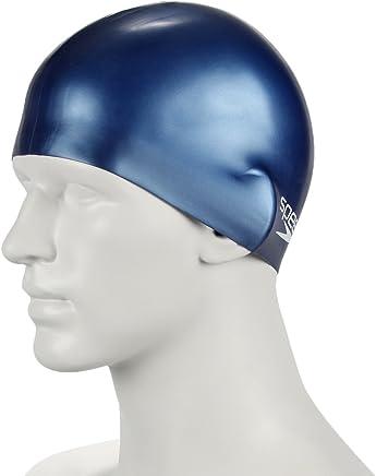 Speedo Plain Moulded Silicone Junior Swimming Cap 79e184aa1b08