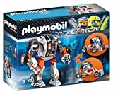 Playmobil- Chef de la Spy Team avec Robot Mech, 9251