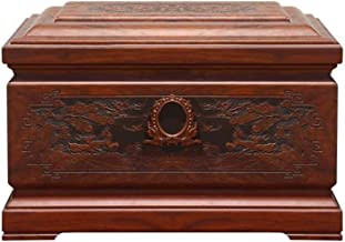 JIADUOBAO-urn Urns for Human Ashes Adult, Cremation Urn Adult Size Forever Memory Urn - Suitable Home Place or Burial(Rose...