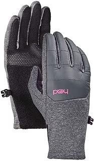 Junior Hybrid Gloves Large Black, Ages 10-14