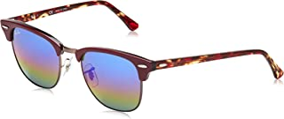 RB3016 Clubmaster Square Sunglasses