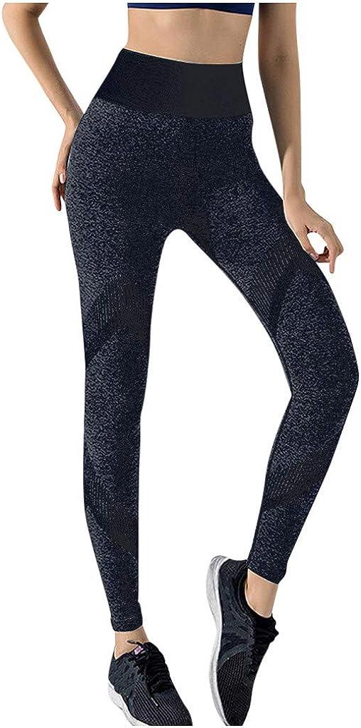 Hotkey Yoga Pants for Women, Full Length Running Sports Pants Stretch Exercise Fitness Pants Gym Yoga Leggings