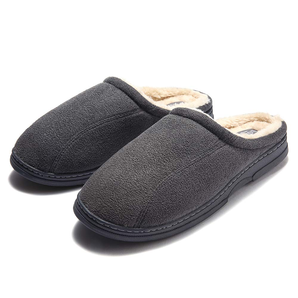 Image of Comfortable Microsuede Slippers for Men - See More Colors