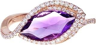 sideways marquise diamond ring
