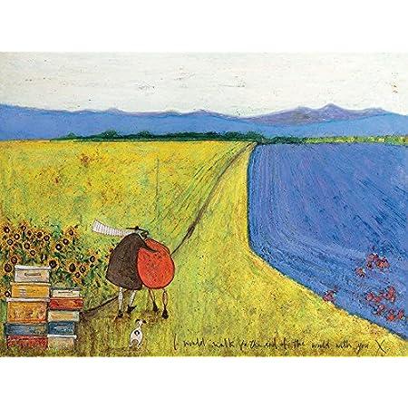 #126805 30x30cm Forever Loved Poster Leinwand-Druck Bild Sam Toft
