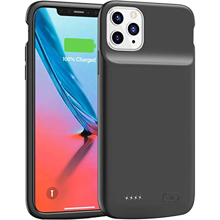 6.1 inch 6500mAh Slim Protective Portable Charging Case Rechargeable Extended Battery Pack for iPhone XR Charger Case Black Battery Case for iPhone XR