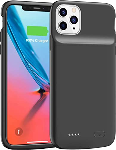 Lonlif Battery Case for iPhone 11 Pro Max, 5000mAh Ultra Slim Portable Charging Case Protective Charger Case, Recharg...